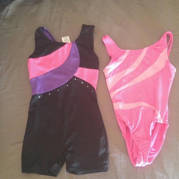 Little girls gymnastics outfits